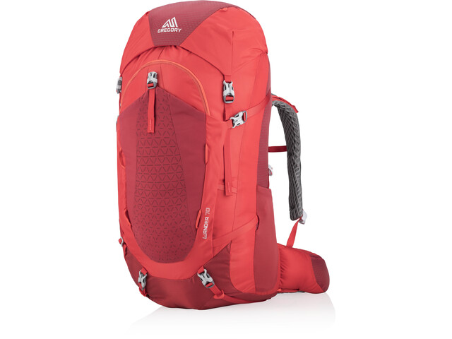 Gregory Wander 70 Backpack Ungdom fiery red